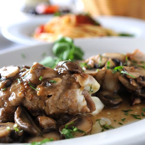 Spicy Sauteed Mushrooms With Anchovy Recipe — Dishmaps